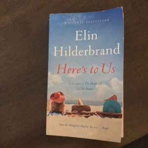 """Elin Hilderbrand book, """"Here's to us"""""""